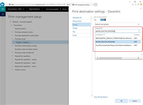 ssrs report templates how to use built in ssrs reports with docentric print