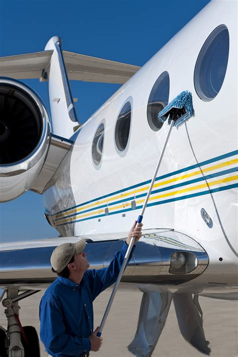 new wash wax mop advances waterless aircraft cleaning state of the