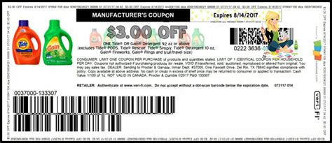 printable gain coupons 3 gain coupon bing images