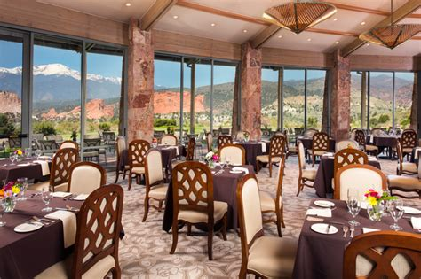 The Grand Dining Room by Grand View Dining Room Garden Of The Gods Collection