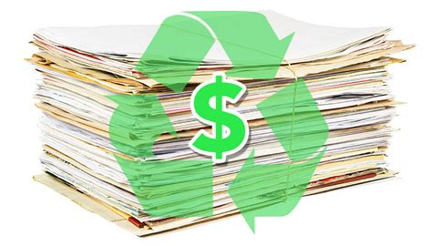 Make Money Recycling Paper - 4 easy steps to help you get money for paper recycling