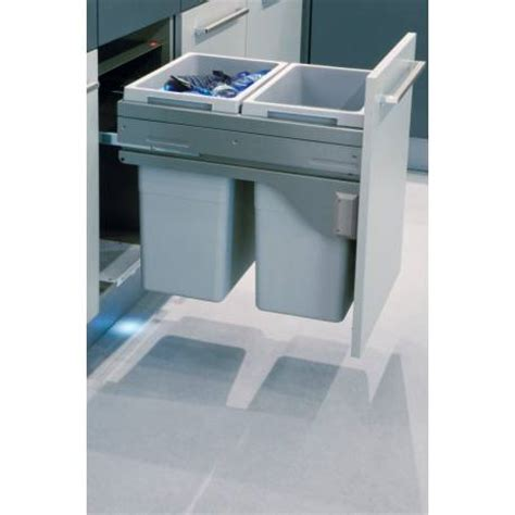 poubelle de tiroir poubelle suspendue meuble tiroir tri selectif accessoires