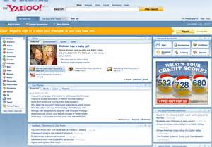My Yahoo Calendar My Yahoo Rolls Out New Interface Tries To Fend