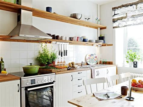 Kitchen Open Shelves Ideas by Kuchnia W Stylu Skandynawskim Blog Amp Party Shop