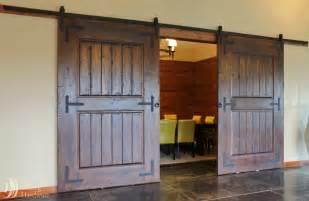 barn doors kitchen sliding door