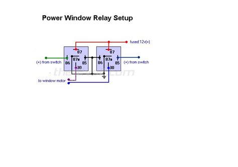 5 pin relay wiring diagram 12 volt electrical schematic