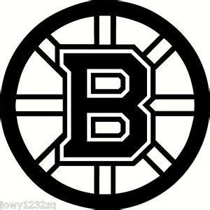 Hockey Wall Stickers 2x boston bruins nhl vinyl decal sticker many colors car
