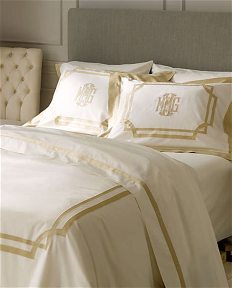 applique monogrammed bed linens applique luxury monograms
