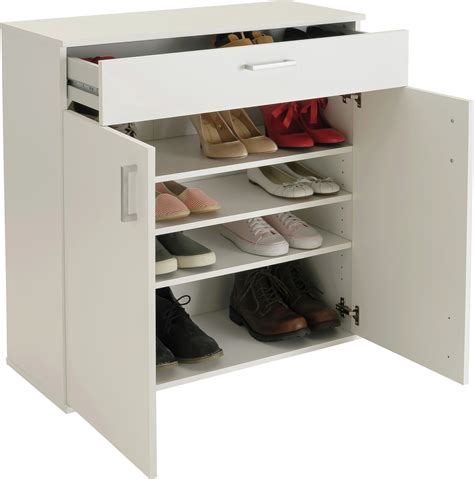venetia shoe storage cabinet with drawer home venetia shoe storage cabinet white 163 74 99 octer