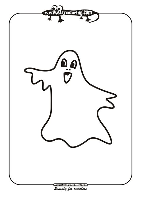 large ghost coloring page free halloween ghosts coloring pages