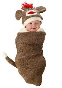 halloween costumes monkey sock monkey newborn bunting