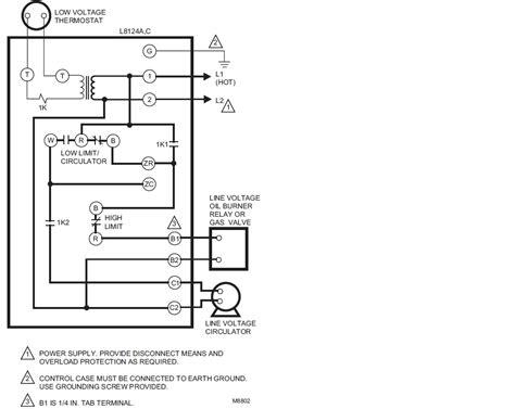 honeywell aquastat relay wiring honeywell thermostat relay