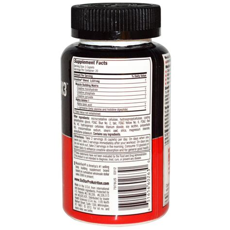 creatine x3 pill review six creatine nutrition facts nutrition ftempo