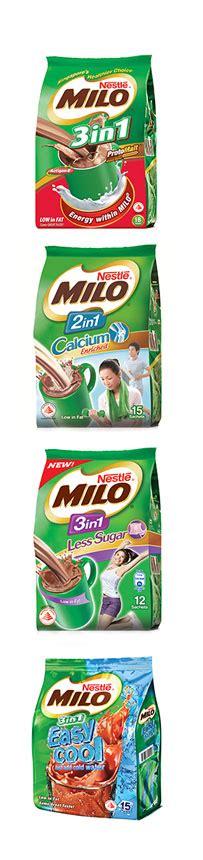 Milo 2in1 milo mixes
