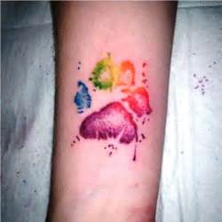 rainbow watercolor tattoo 45 rainbow tattoos tattoofanblog