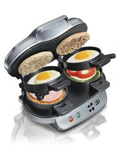 Philips Bread Toaster Hamilton Beach Is Making A Dual Breakfast Sandwich Maker