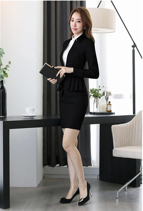 business suit office uniform designs women skirt suit