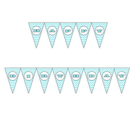 printable happy birthday triangle banner best happy birthday banner download products on wanelo