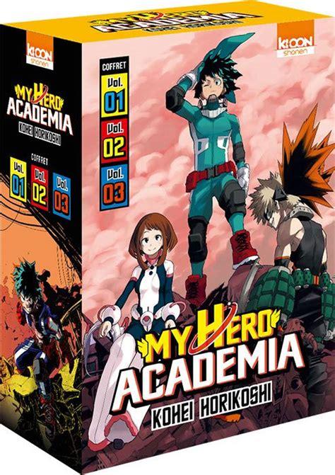 my hero academia 01 tpb manga kopen my hero academia manga coffret vol 01 archonia com