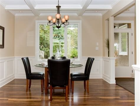 dining rooms with chair rail paint ideas simple home best