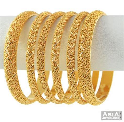 Bangles India Size L 9 22k gold bangles set ajba52491 22k gold bangle set
