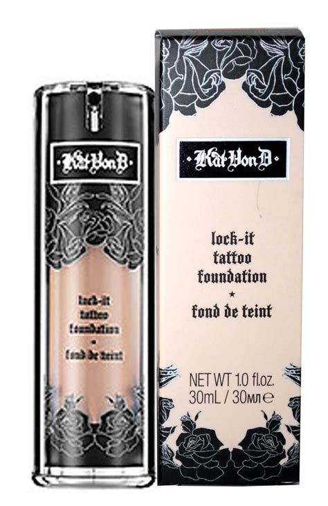 kat von d lock it tattoo foundation d lock it foundation review confessions