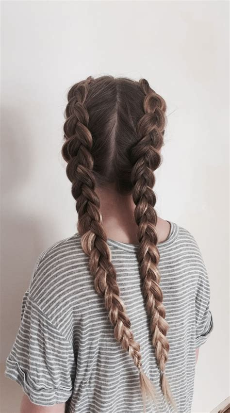 Braid Hairstyles Book by 25 Best Ideas About Two Braids On