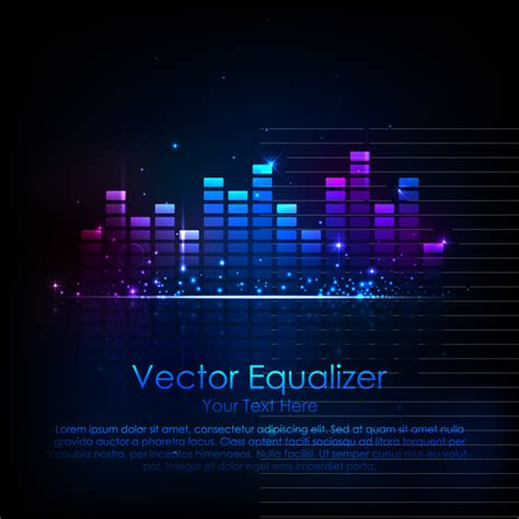 music equalizer music equalizer free vector graphic download