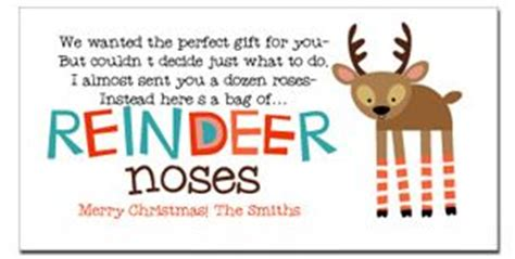 free printable reindeer noses poem reindeer noses poem reindeer feed free printable gift