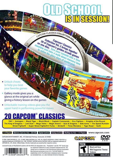 devilman the classic collection vol 2 capcom classics collection vol 2 details launchbox