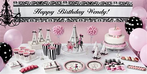 home furnishings store st louis ooh lala pink paris party supplies paris theme party party city