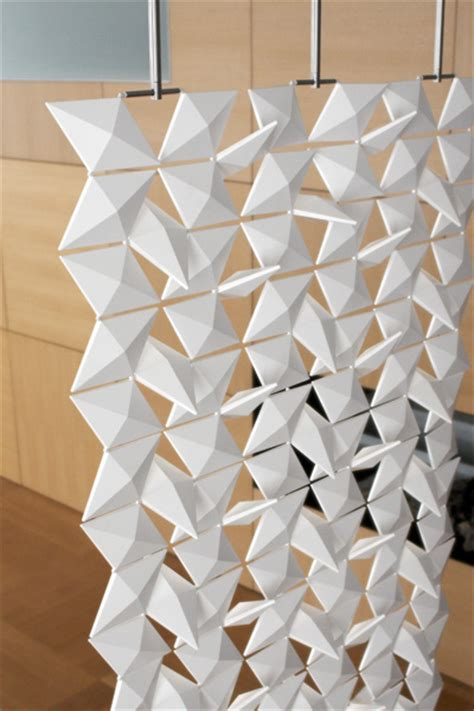 contemporary room divider contemporary room dividers lightfacet divider by bloomming