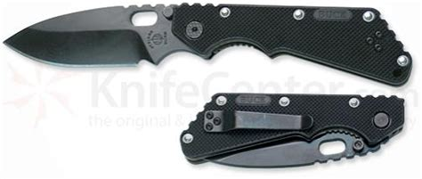 strider buck knives buck sbmf strider tarani folder w black blade