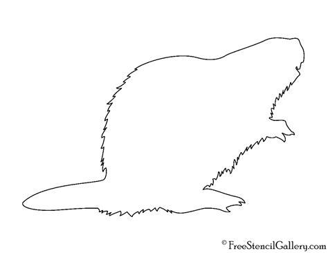 beaver template 28 beaver template beaver pattern use the printable