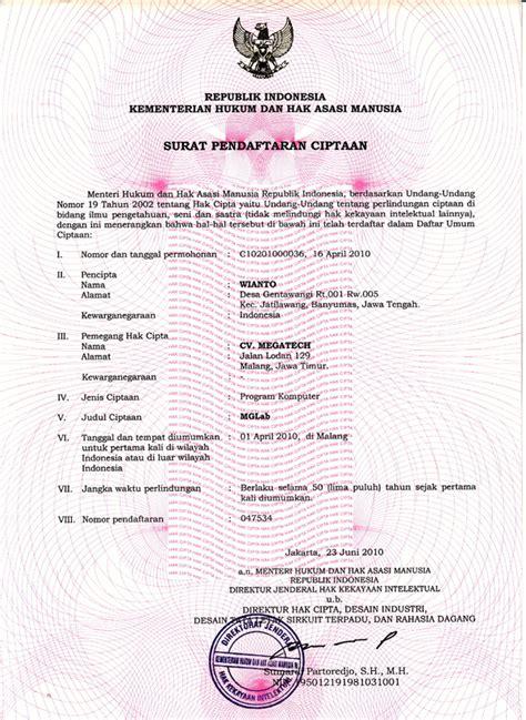 macam macam perlindungan hak cipta prosedur pendaftaran hak cipta 2012