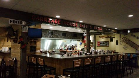 carriage house cafe grill american new 27 water st