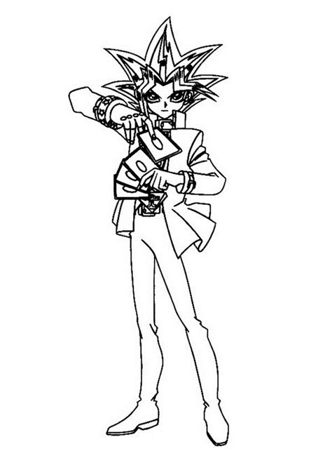 print coloring pages yugioh free printable yugioh coloring pages for