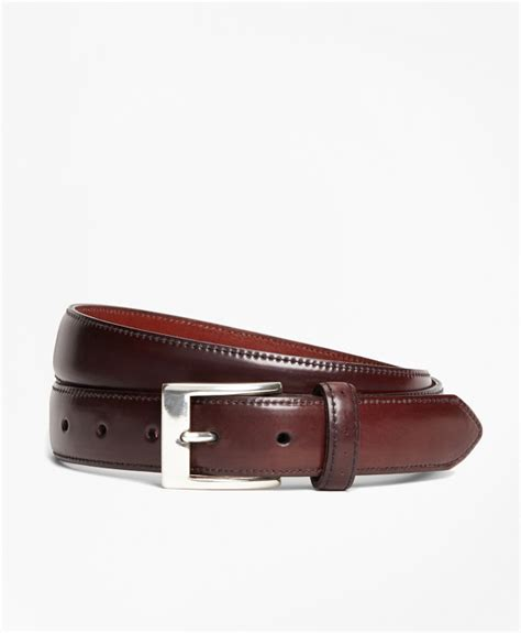 Perforated Belt perforated cordovan belt brothers