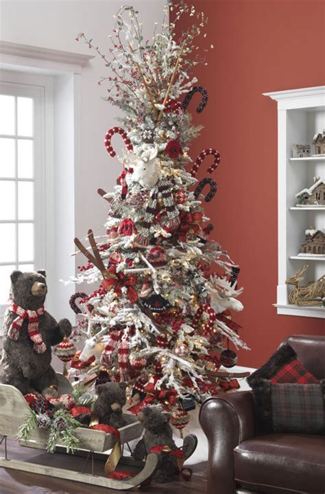 christmas decorating ideas for 2013 25 themed christmas trees for 2013 by raz style estate