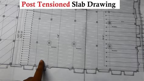 read post tensioned slab drawing plans  site