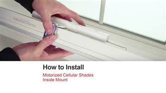 how to hang shades inside mount bali blinds how to install motorized cellular shades