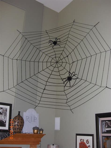 decorating with spider webs for spider webs outdoor decorations decoration
