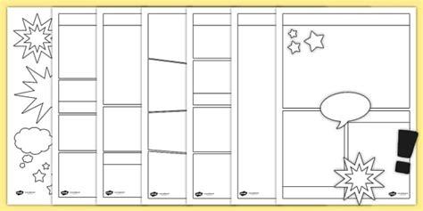 comic template blank comic book templates comic comic books writing