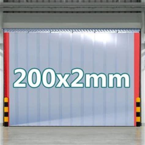 Werkstatt Vorhang by Pvc Streifenvorhang 200x2mm F 252 R Pferdestell Oder Werkstatt