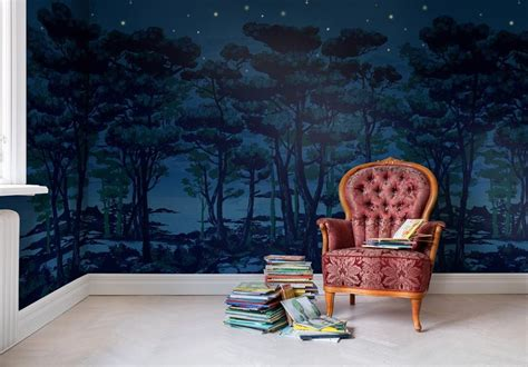 Enchanted Forest Wall Mural wall mural the enchanted forest wallsorts