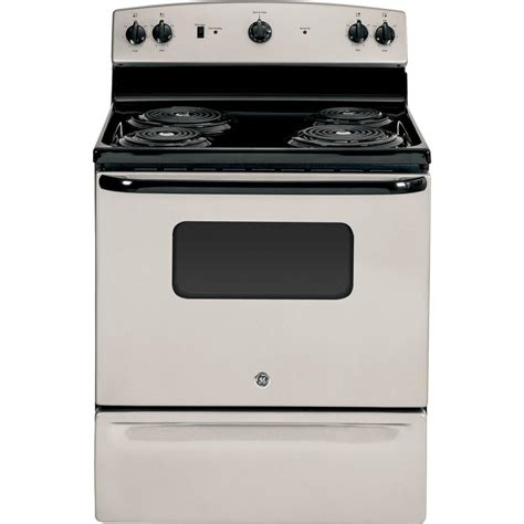 ge 5 3 cu ft electric range with self cleaning