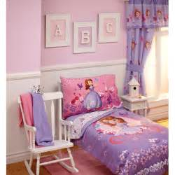 toddler bedroom sets for disney sofia first toddler bedding set on white glaze