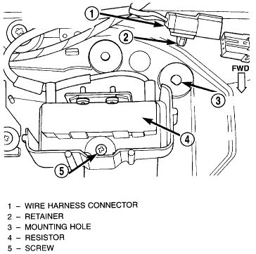 blower motor resistor dodge durango 2003 2001 dodge durango blower motor resistor diagram 2001 free engine image for user manual