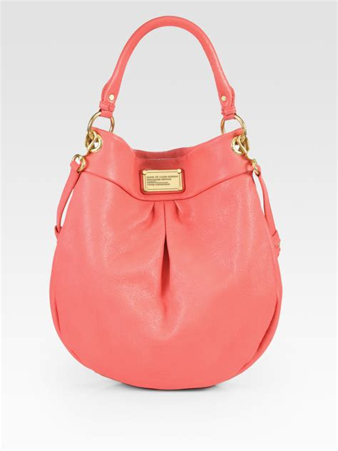 Marc By Marc Miss Marc Hobo by Lyst Marc By Marc Classic Q Hillier Hobo In Pink