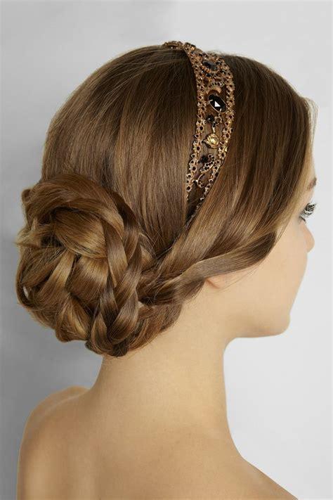 updo hairstyles headband most fashionable graceful headband hairstyle tutorials